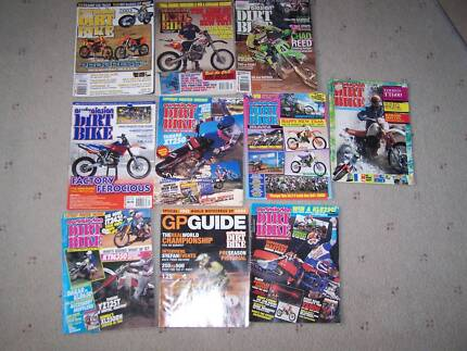 AUSTRALASIAN DIRT BIKE MAGAZINE $10 THE LOT Whyalla Norrie Whyalla Area Preview
