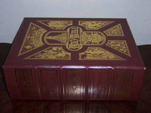 Easton Press THE HOLY BIBLE Antiquarian 1873