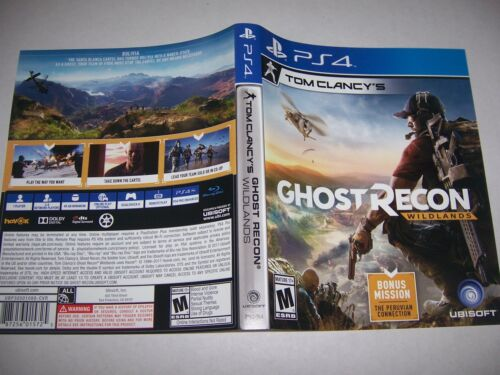 Original Replacement Case Box PlayStation 4 PS4 Ghost Recon Wildlands *NO GAME*