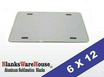 120 Pieces Aluminum License Plate Sublimation Blanks 6x 12 New Best Quality