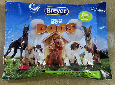 Breyer Pocket Box Dogs New Sealed