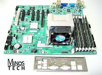 SuperMicro X8SIA-F Server Motherboard, I/O Shield, 32G Memory, X3450 CPU & Fan!