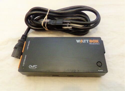 WATTBOX WB-250-IPW-2 Voltage Protector & Wi-Fi 2 controlled outlets