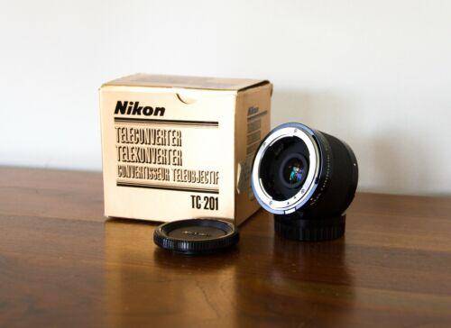 Near Mint Nikon TC-201 2x Teleconverter Nikon F-Mount - AI/AI-s - Pristine Glass