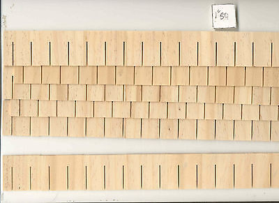 Shingles Strip   Square Butt 7404 1 12Th Scale Dollhouse Roofing Houseworks 12Pc