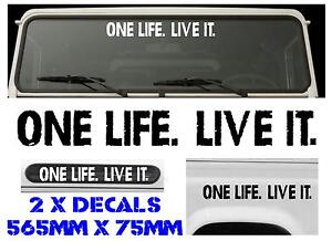 ONE-LIFE-LIVE-IT-OFF-ROAD-4X4-LANDROVER-DECAL-STICKER-GRAPHICS-OR51