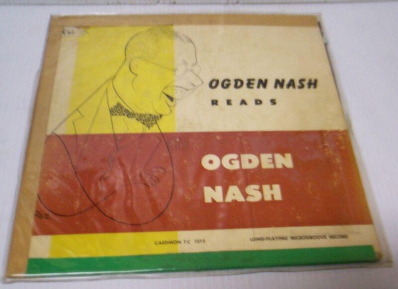 Ogden Nash Reads Ogden Nash Record
