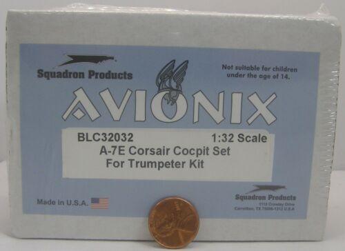 Avionix Resin Set 1:32 BLC32032 A-7E Corsair Cockpit Set for Trumpeter Kit