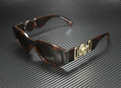 VERSACE VE4361 521773 Havana Brown 53 mm Unisex Sunglasses
