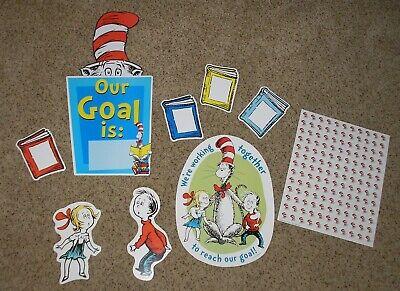 - Teacher Resource: Dr. Seuss Reading Goals Bulletin Board Set  + 143 Stickers