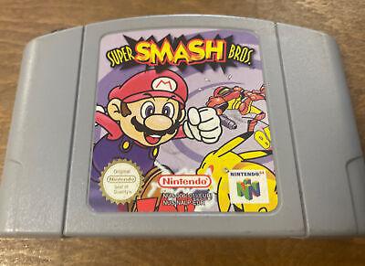 Super Smash Bros Nintendo N64 Cartridge only