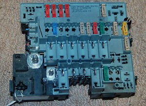 peugeot 206 under bonnet fuse box incl fuses psa 96280244 Ford Festiva Fuse Box   35