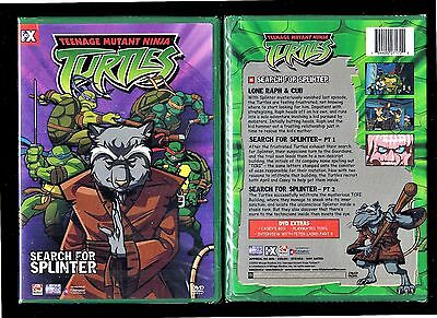 Teenage Mutant Ninja Turtles - Vol 8: Search for Splinter (Brand New DVD, 2004)