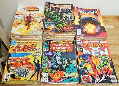 Huge MARVEL DC COMICS lot No.1's Captain America 360 Flash Batman X-Men Avengers