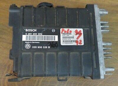 VW Polo 86C 1,3 40kW Motorsteuergerät ECU Bosch 030906026B 0261200259