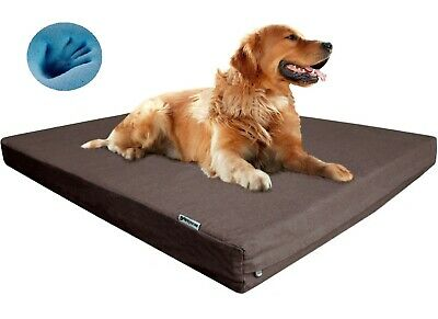 Extra Large Orthopedic Waterproof Memory Foam Pet Bed for Large Dog 48X30
