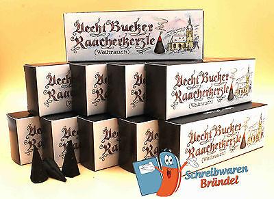 Räucherkerzen 10 x- Weihrauch - Echte Bucker - Gläser Bockauer - Räucherkegel