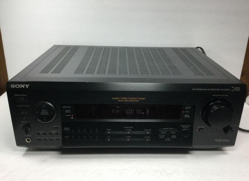 Sony STR-DE525 Audio/Visual Control Center FM Stereo FM AM  Digital Receiver