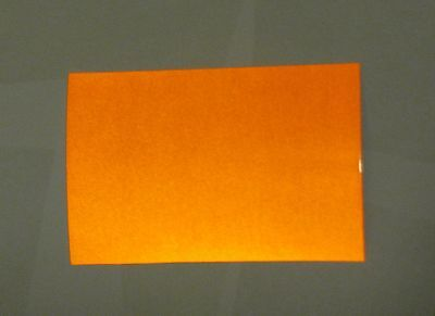 12 Inch X 5 Feet Orange Reflective Sign Vinyl Wadhesive High Reflectivity 3m