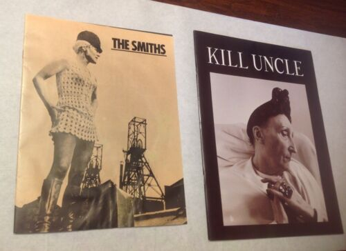 THE SMITHS / MORRISSEY MEAT IS MURDER TOUR PROGRAM BOOK BOOKLET LOT OF 2
