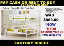 Bunks Singel Bed Bottom Double Top Rent or Buy model Calypso Sumner Brisbane South West Preview