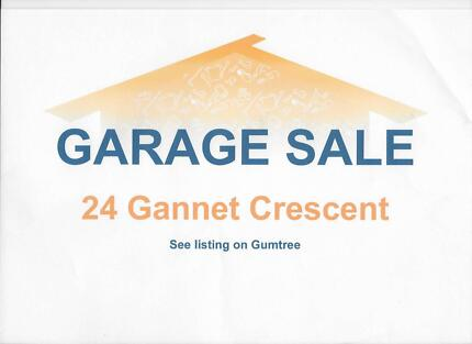 GARAGE SALE OLD BAR   24  Gannet Crescent