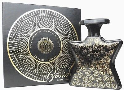 Wall Street by Bond No 9 Eau De Parfum Spray 3.3 oz.for Men and Women New In Box