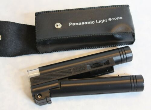 Panasonic Light Scope 30X FF-393 w/Case and Instructions - WORKS - Lighted