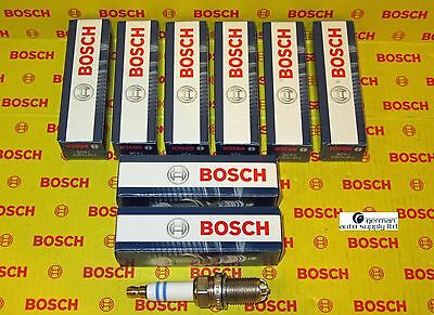 Audi, Volkswagen 8 pcs. Spark Plug Set - BOSCH 0242235715, FGR7KQE0, 7406 OEM
