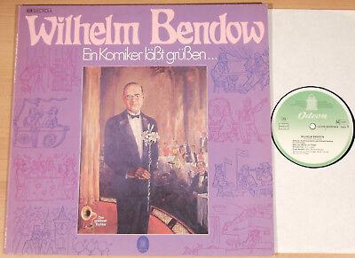 WILHELM BENDOW - Ein Komiker läßt grüßen (ODEON / m. Bruno Fritz / LP NEUWERTIG)