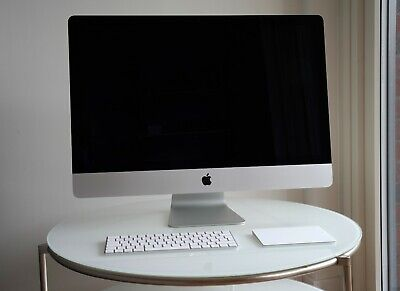 iMac 27 5k 2019 3.6GHz i9 8 core 72GB RAM 512GB SSD Pro Vega 48 8GB Used *Mint*