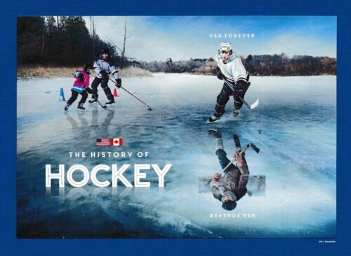 Scott #5252-53 2017 History of Hockey (Souvenir Sheet of 2) #5253c 2017 Mint NH