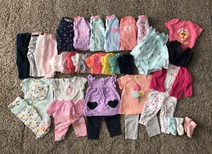 Baby Girl 6mos Clothing LOT-40items