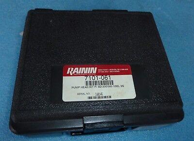 Rainin 7101-061 10ml Pump Head Kit For Model Sd-200 And Sd-300 Hplc Pumps.