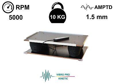 Vibrating Table Concrete Vibration Compactor Resin Silicone Molding Bubble Free