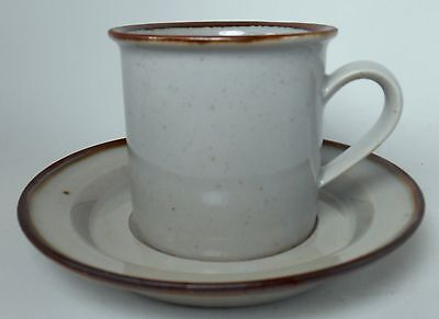 Brown Mist - DANSK china BROWN MIST pattern Cup & Saucer Set @ 3