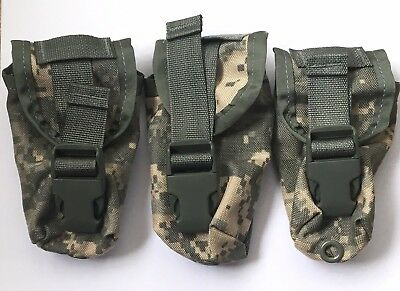 Flash Bang Grenade Pouch LOT Molle II Digital Camo Camouflage Green Belt - Molle Grenade Pouch