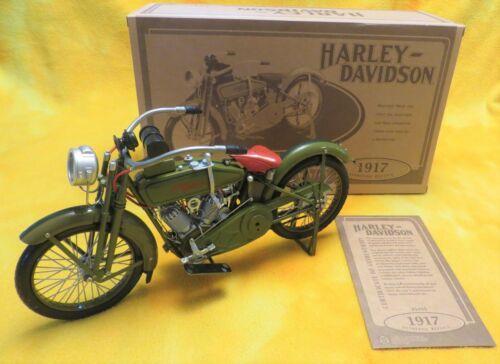 RARE - 1917 HARLEY DAVIDSON 3 Speed V-Twin Model F DieCast  1/6 MOTORCYCLE XONEX