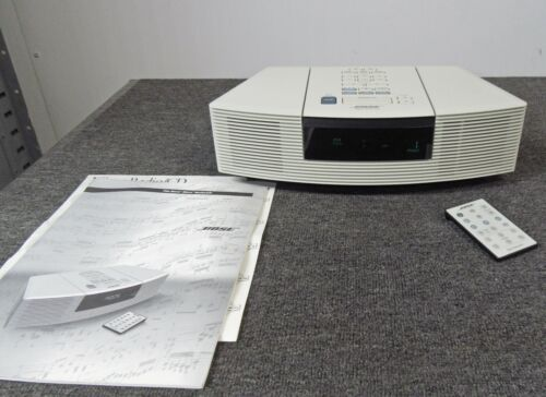 Bose Wave Radio / CD AWRC-1P AM/FM Radio and CD Player White *SOUNDS GREAT!*