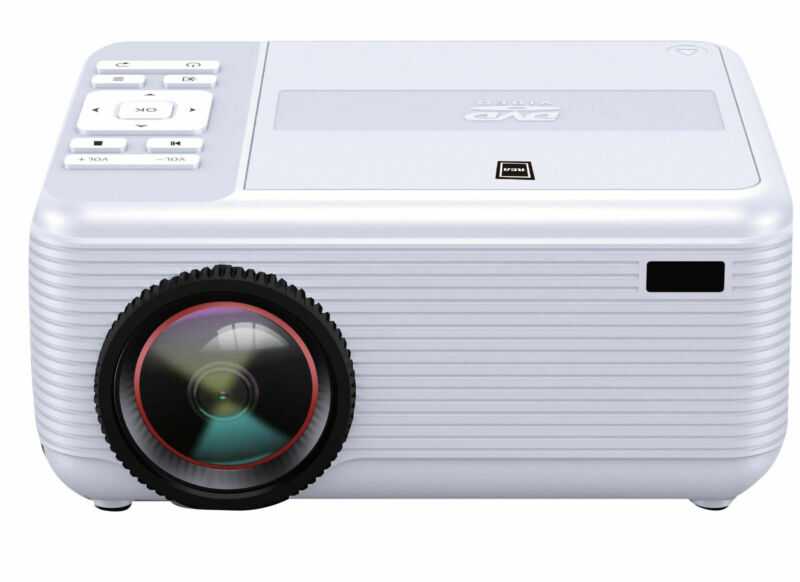 RCA Bluetooth Home Theater Projector + Built-in  DVD Player & Speakers   RPJ140