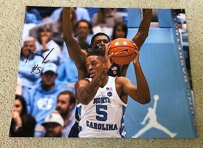 2005 UNC Basketball Team 12X Signed Photo Panoramic Auto North Carolina RARE