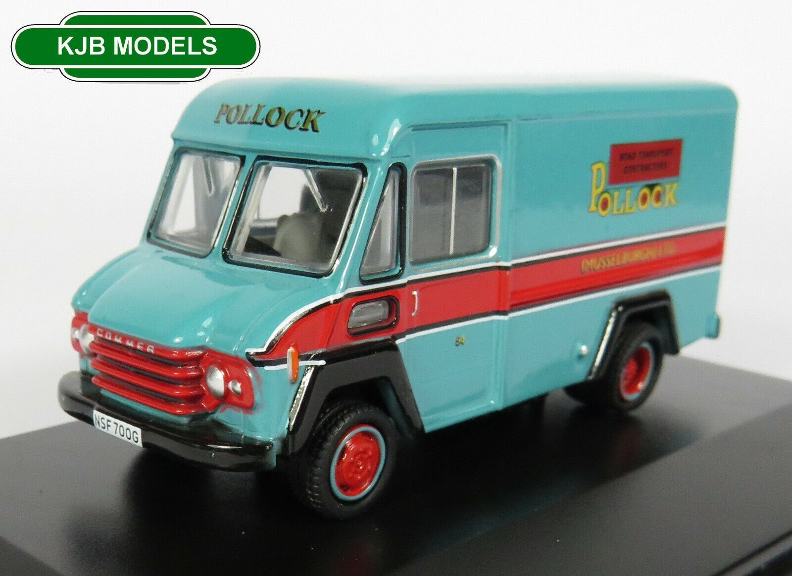 BNIB OO GAUGE OXFORD 1:76 76CWT005 Commer Walk Thru Pollock Van