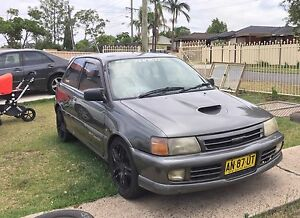 1992 Toyota Starlet GT Jap SPEC Old Guildford Fairfield Area Preview
