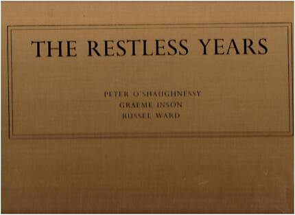The Restless Years Book + Record