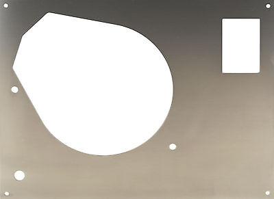 Piastra Copertura frontale per THORENS TD 145 - 166 SME BRACCIO ACCIAIO INOX usato  Spedire a Italy