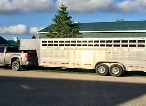24' cattle trailer