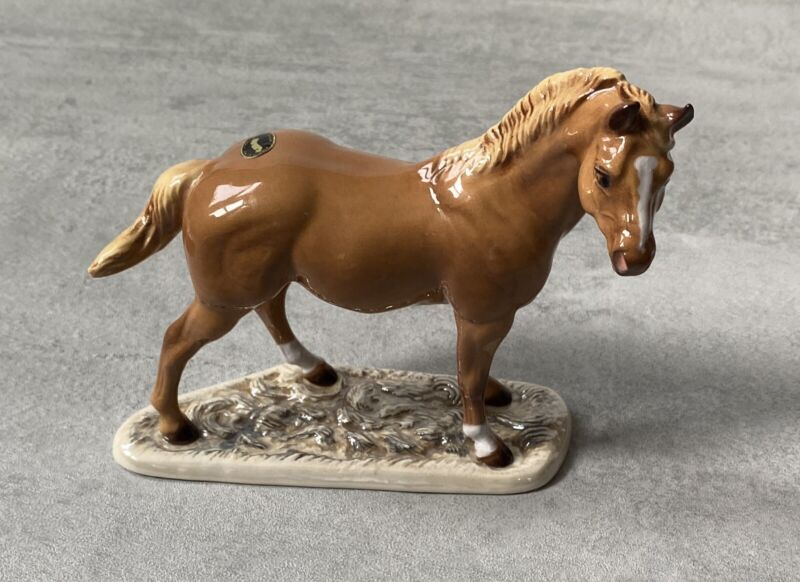 RARE Original Hagen Renaker Horse Signed Hand Painted Numbered Q641 Specialty