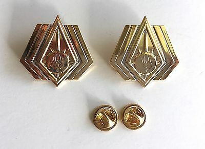 Battlestar Galactica Chief Rear Admiral Rank Pin Set