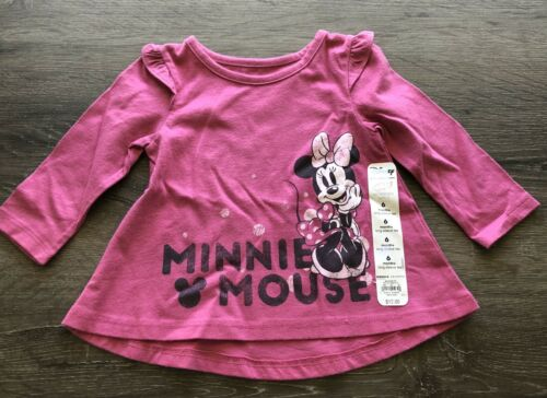 NWT Disney Jumping Beans Minnie Mouse Baby Girls Swing Top S