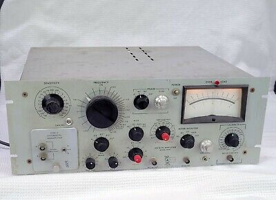 Princeton Applied Research Hr-8 Lock In Amplifier W Type D Differential Preamp